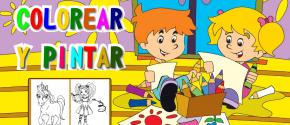 Colorear y Pintar. App para niños